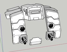 Heavy Cybot Seigebreaker Armour Mk3 3D print model