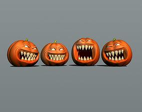 3D print model toothy pumpkins