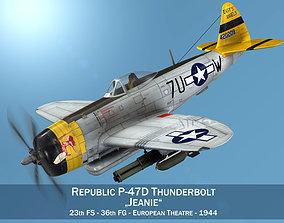 Republic P-47D Thunderbolt - Jeanie 3D