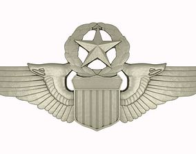 3D model Silver Wings Badge