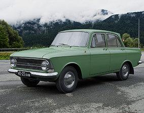 IZH Moskvitch-412IE 1967 3D