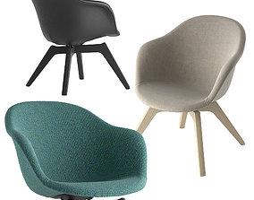 Boconcept-adelaide lounge chair 3D