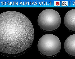 3D ZBrush Skin Alphas