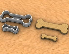 Bone Cookie Cutter 3D printable model