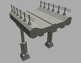 Overpass 3D asset