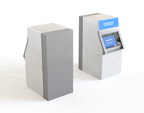 pc ATM - automated teller machine 3D model