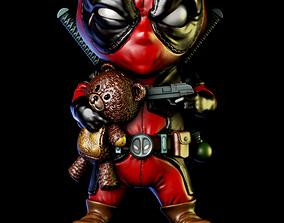 Deadpool chibi badass 3d print model