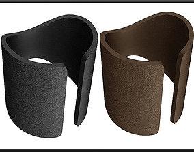 Leather Bracelet 03 3D model