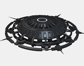 ufoblackandglowblue 3D model