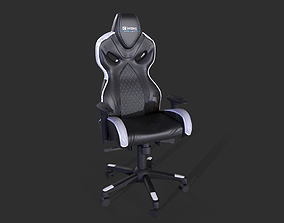 Gaming Chair 3D modeling and Texturing low-poly