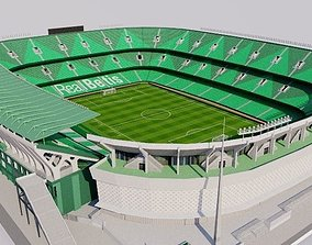 3D model Estadio Benito Villamarin - Real Betis Sevilla