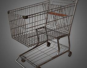 GEN - Shopping Cart - PBR Game Ready 3D model