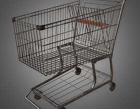 Shopping Cart - PBR Game Ready 3D model