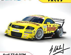 audi Audi TT-R DTM 2003 - Hasseroeder 3D model