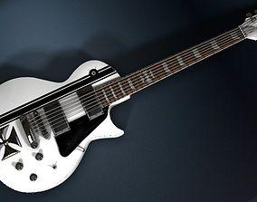 James Hetfield ESP JH IRON CROSS White 3D model