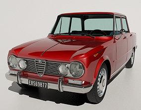 3D 1967 Alfa Romeo Giulia Super 1600