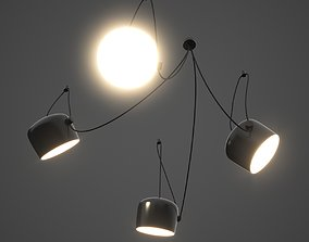Multi Light Pendant Hanging Lamps 3D model
