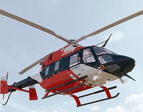 3D model Russian Helicopters Ansat Aurus Kazan