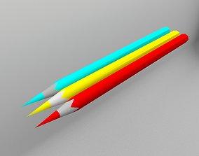 VR / AR ready Pensil 3D model