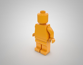 LEGO Character 3D asset game-ready