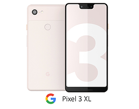 3D model Google Pixel 3 XL Not Pink