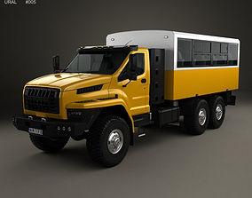 3D model Ural Next Crew Truck 2016
