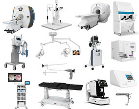 3D Medical Collections 13 in 1