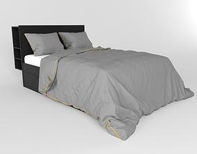 Ikea Brimnes Bed 3D