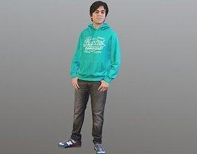 3D No116 - Teenager Standing
