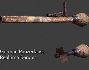 3D model German Panzerfaust WWII Panzer
