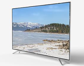 3D asset Low-poly TV