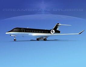 Bombardier Global Express 6000 V12 3D model