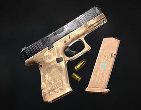 3D asset Glock 45