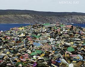 Garbage dump site 3D