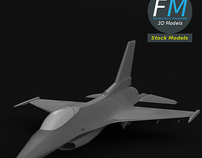 F-16 Fighting Falcon base mesh 3D