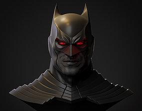 Batman Flashpoint Cowl 3D Printing STL