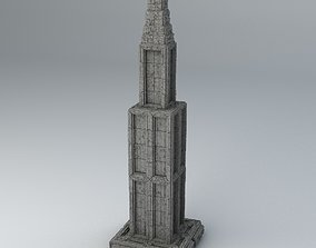Sci Fi Shapes Dystopia Building 6 3D model