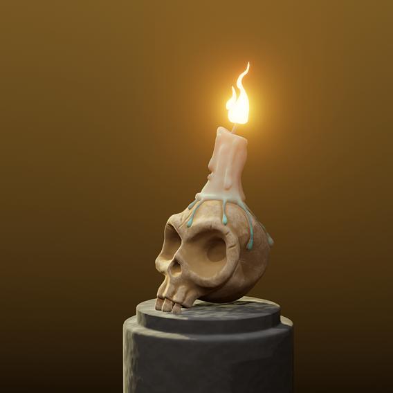 Stylized Skull Halloween Special