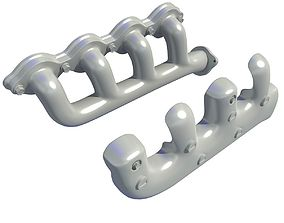 Exhaust Manifolds V2 3D model