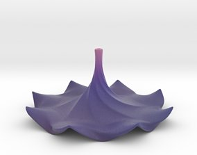 3D print model Flower Incense Stick Holder