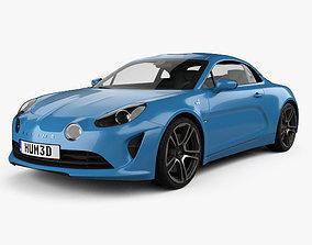 Renault Alpine A110 Premiere Edition 2017 3D model