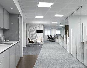 Full Office Interior 3D
