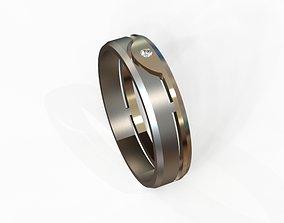 3D print model wedding ring obr 28