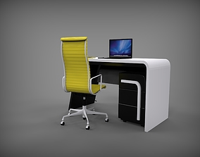 3D model cabinet table