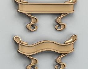 3D Decorative Ribbon 003