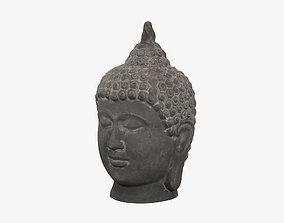 3D model zen Buddha
