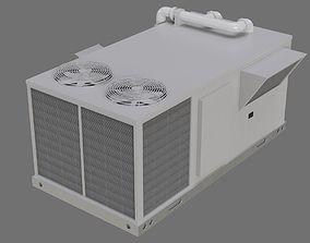 3D asset Rooftop AC Unit 1A