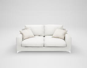 3D asset Furniture series - modern sofa - 12