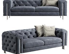 3D Vincent Contemporary Sofa S