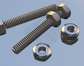 Screw and Bolt 3D Printable